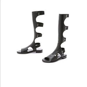 Stuart Weitzman Gladiator Sandals Size 10